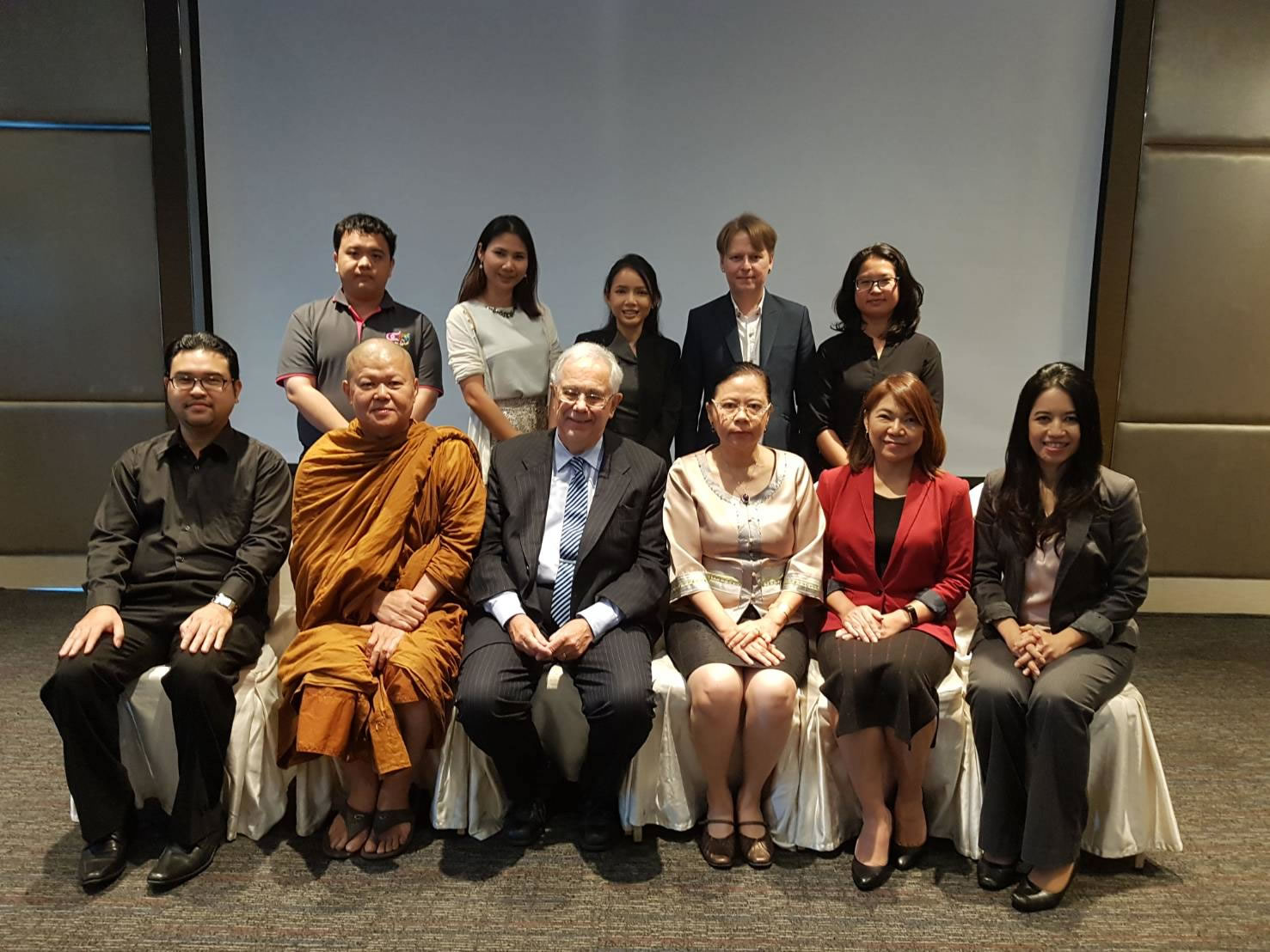 Thailand Conference on Addictive Disorders: Professor Saunders attends as guest of honour